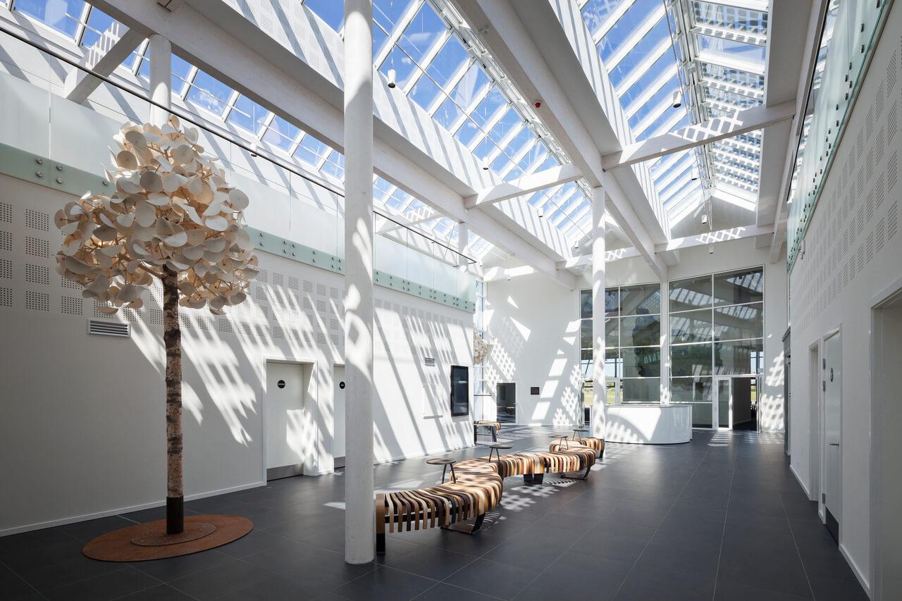 Dachfenster, das natürliches Licht in das